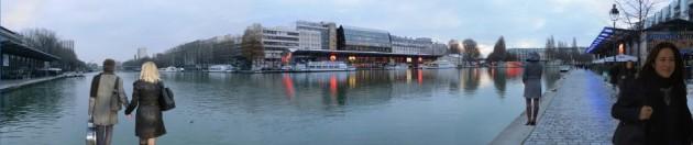 Bassin La Villette a